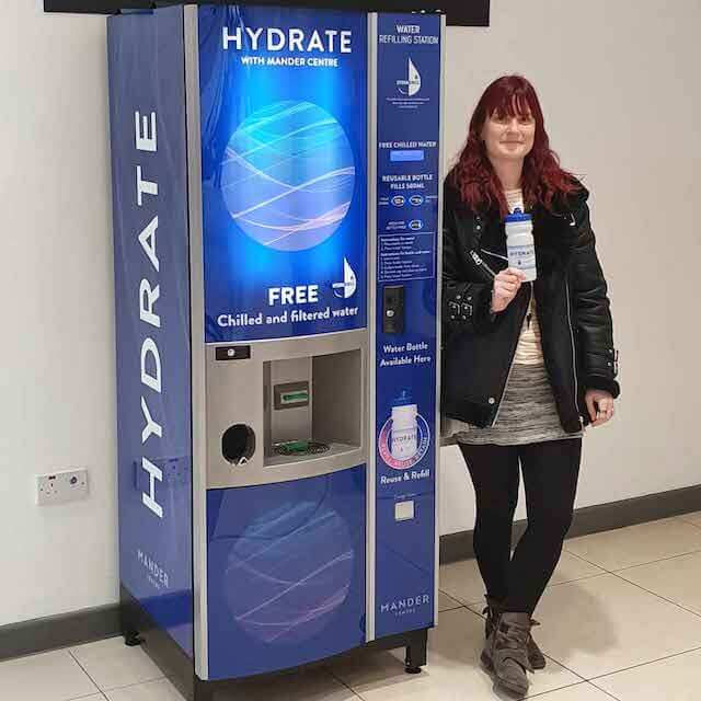 HydraChill supports shopping centres with water refill stations