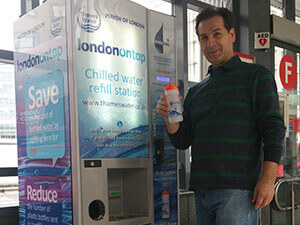 HydraChill landmark achievement at Hammersmith Station