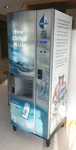 Water refilling station aiding hydration and learning at Henley River & Rowing Museum